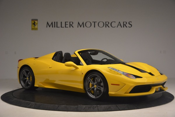 Used 2015 Ferrari 458 Speciale Aperta for sale Sold at Aston Martin of Greenwich in Greenwich CT 06830 10