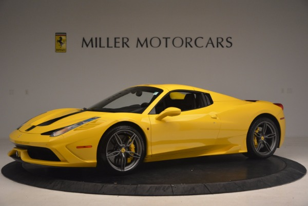 Used 2015 Ferrari 458 Speciale Aperta for sale Sold at Aston Martin of Greenwich in Greenwich CT 06830 14