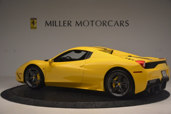 Used 2015 Ferrari 458 Speciale Aperta for sale Sold at Aston Martin of Greenwich in Greenwich CT 06830 16