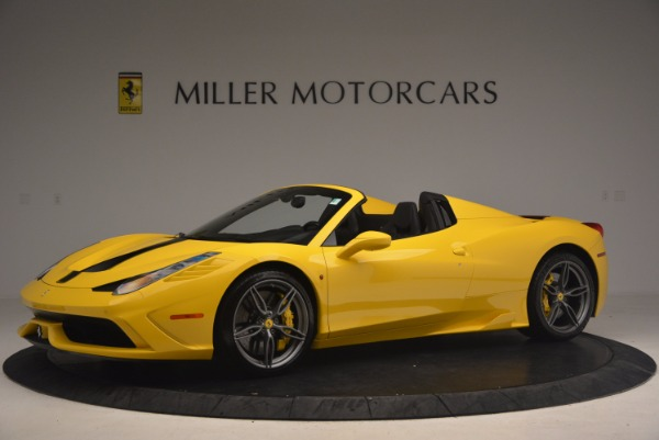 Used 2015 Ferrari 458 Speciale Aperta for sale Sold at Aston Martin of Greenwich in Greenwich CT 06830 2