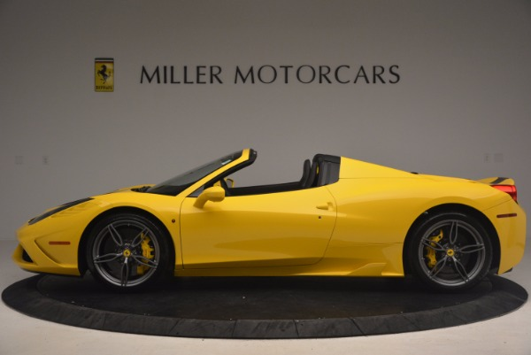 Used 2015 Ferrari 458 Speciale Aperta for sale Sold at Aston Martin of Greenwich in Greenwich CT 06830 3