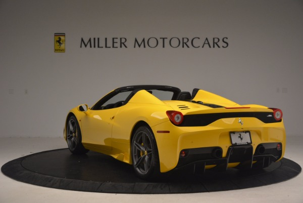 Used 2015 Ferrari 458 Speciale Aperta for sale Sold at Aston Martin of Greenwich in Greenwich CT 06830 5