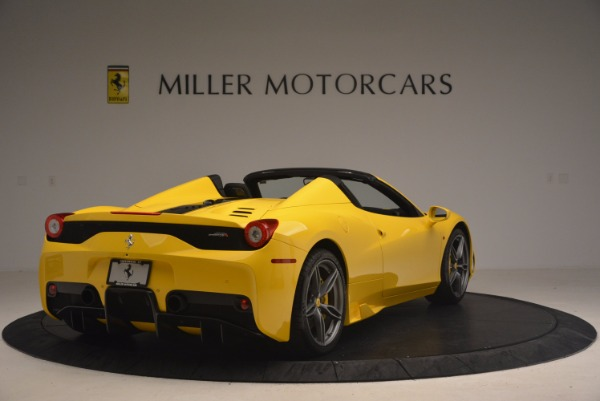 Used 2015 Ferrari 458 Speciale Aperta for sale Sold at Aston Martin of Greenwich in Greenwich CT 06830 7