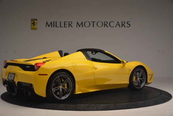 Used 2015 Ferrari 458 Speciale Aperta for sale Sold at Aston Martin of Greenwich in Greenwich CT 06830 8