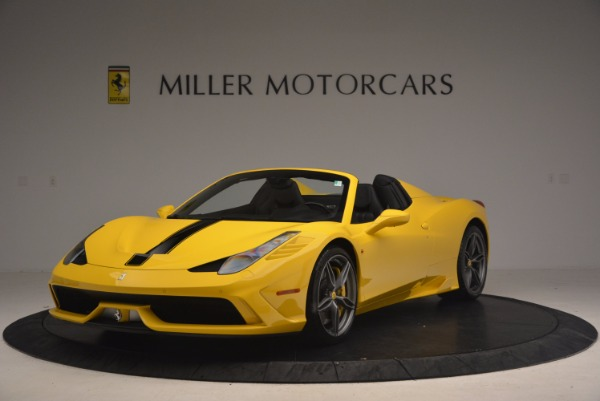 Used 2015 Ferrari 458 Speciale Aperta for sale Sold at Aston Martin of Greenwich in Greenwich CT 06830 1