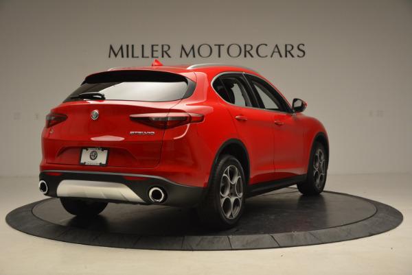 New 2018 Alfa Romeo Stelvio Q4 for sale Sold at Aston Martin of Greenwich in Greenwich CT 06830 7