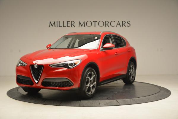 New 2018 Alfa Romeo Stelvio Q4 for sale Sold at Aston Martin of Greenwich in Greenwich CT 06830 1