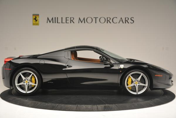 Used 2015 Ferrari 458 Spider for sale Sold at Aston Martin of Greenwich in Greenwich CT 06830 21
