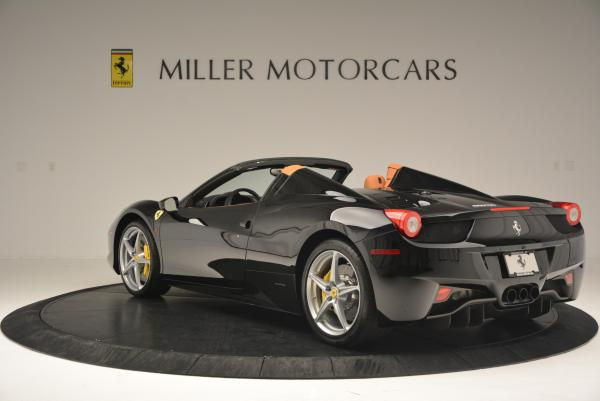 Used 2015 Ferrari 458 Spider for sale Sold at Aston Martin of Greenwich in Greenwich CT 06830 5