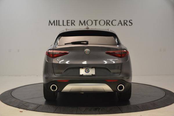 New 2018 Alfa Romeo Stelvio Ti Q4 for sale Sold at Aston Martin of Greenwich in Greenwich CT 06830 6