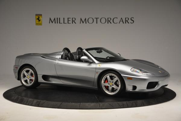 Used 2004 Ferrari 360 Spider 6-Speed Manual for sale Sold at Aston Martin of Greenwich in Greenwich CT 06830 10