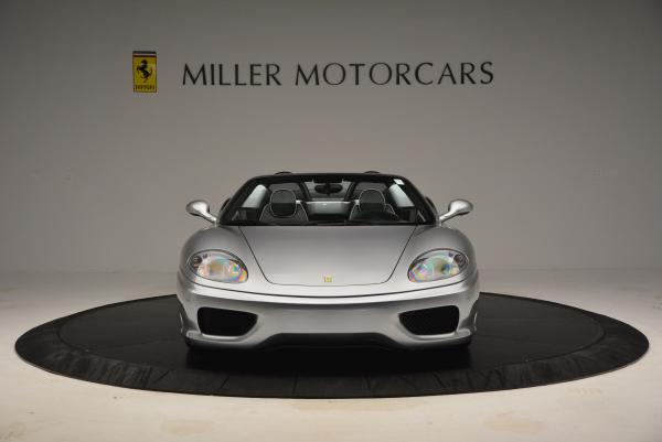 Used 2004 Ferrari 360 Spider 6-Speed Manual for sale Sold at Aston Martin of Greenwich in Greenwich CT 06830 12