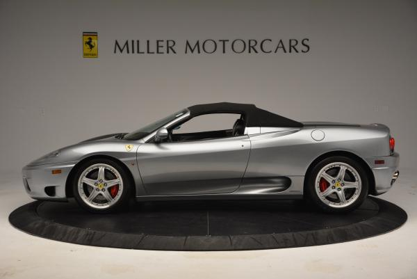 Used 2004 Ferrari 360 Spider 6-Speed Manual for sale Sold at Aston Martin of Greenwich in Greenwich CT 06830 15