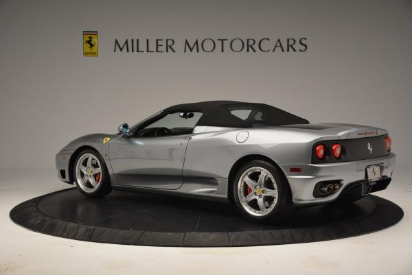 Used 2004 Ferrari 360 Spider 6-Speed Manual for sale Sold at Aston Martin of Greenwich in Greenwich CT 06830 16