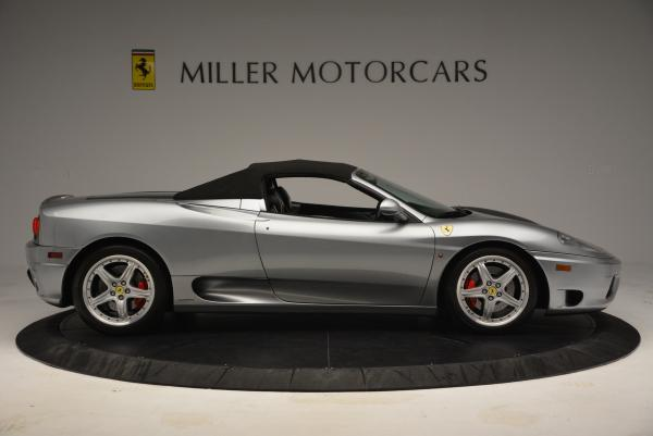 Used 2004 Ferrari 360 Spider 6-Speed Manual for sale Sold at Aston Martin of Greenwich in Greenwich CT 06830 21