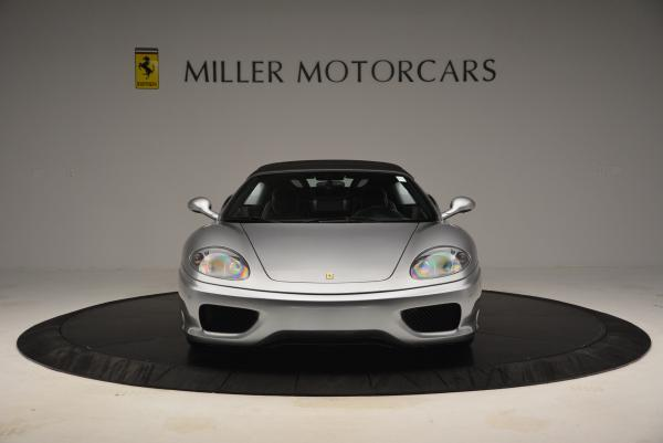 Used 2004 Ferrari 360 Spider 6-Speed Manual for sale Sold at Aston Martin of Greenwich in Greenwich CT 06830 24