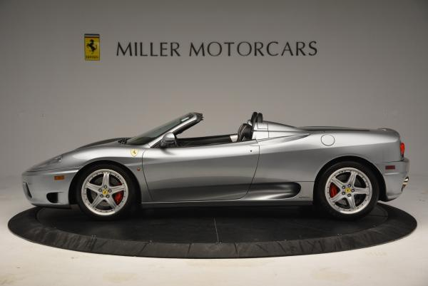 Used 2004 Ferrari 360 Spider 6-Speed Manual for sale Sold at Aston Martin of Greenwich in Greenwich CT 06830 3