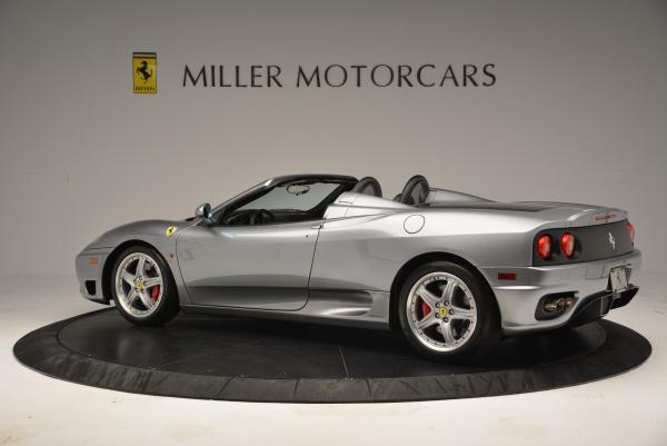 Used 2004 Ferrari 360 Spider 6-Speed Manual for sale Sold at Aston Martin of Greenwich in Greenwich CT 06830 4