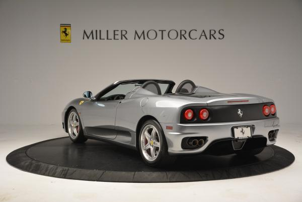 Used 2004 Ferrari 360 Spider 6-Speed Manual for sale Sold at Aston Martin of Greenwich in Greenwich CT 06830 5