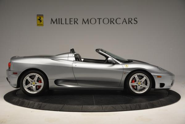 Used 2004 Ferrari 360 Spider 6-Speed Manual for sale Sold at Aston Martin of Greenwich in Greenwich CT 06830 9