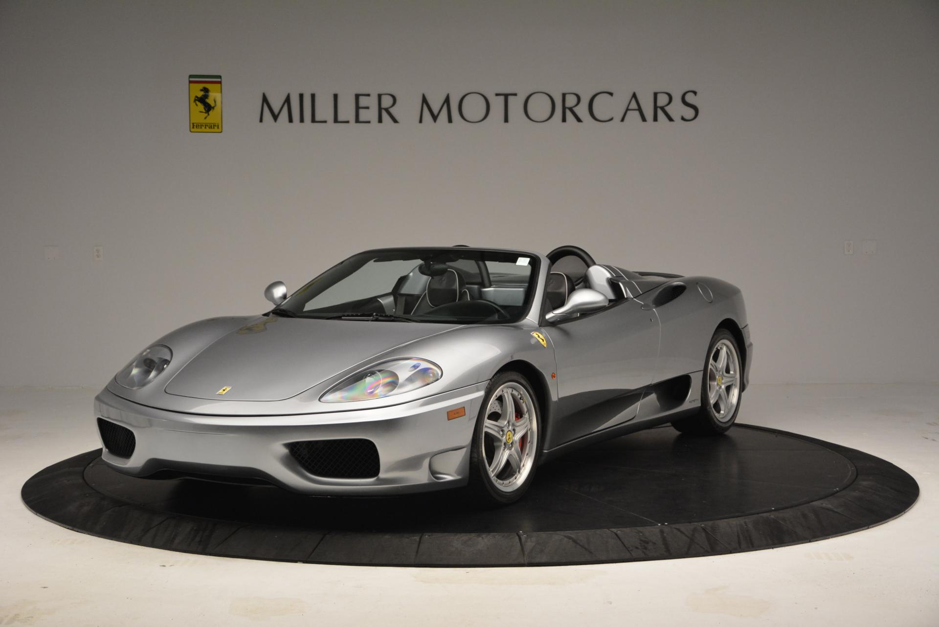 Used 2004 Ferrari 360 Spider 6-Speed Manual for sale Sold at Aston Martin of Greenwich in Greenwich CT 06830 1