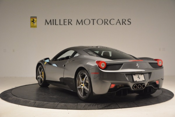 Used 2011 Ferrari 458 Italia for sale Sold at Aston Martin of Greenwich in Greenwich CT 06830 5