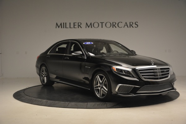Used 2015 Mercedes-Benz S-Class S 65 AMG for sale Sold at Aston Martin of Greenwich in Greenwich CT 06830 11