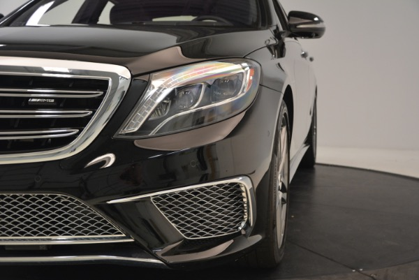Used 2015 Mercedes-Benz S-Class S 65 AMG for sale Sold at Aston Martin of Greenwich in Greenwich CT 06830 16