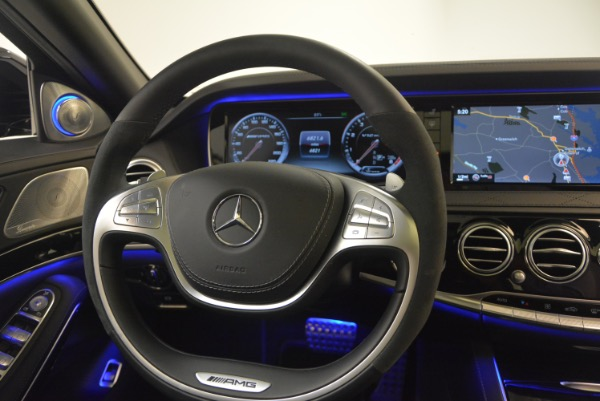 Used 2015 Mercedes-Benz S-Class S 65 AMG for sale Sold at Aston Martin of Greenwich in Greenwich CT 06830 24