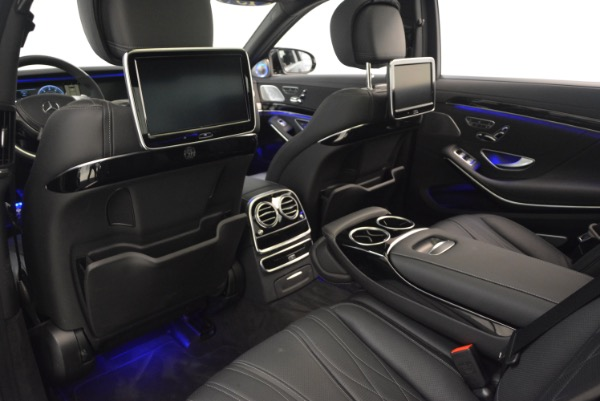 Used 2015 Mercedes-Benz S-Class S 65 AMG for sale Sold at Aston Martin of Greenwich in Greenwich CT 06830 28
