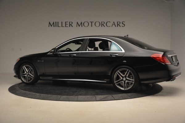 Used 2015 Mercedes-Benz S-Class S 65 AMG for sale Sold at Aston Martin of Greenwich in Greenwich CT 06830 4