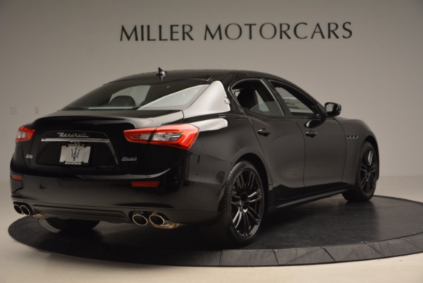 New 2017 Maserati Ghibli Nerissimo Edition S Q4 for sale Sold at Aston Martin of Greenwich in Greenwich CT 06830 7
