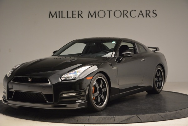 Used 2014 Nissan GT-R Track Edition for sale Sold at Aston Martin of Greenwich in Greenwich CT 06830 1