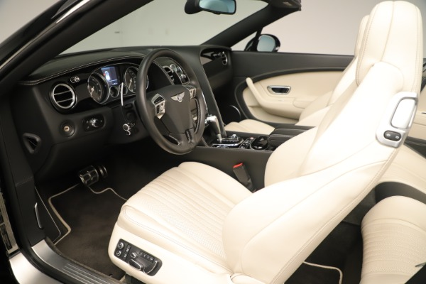 Used 2016 Bentley Continental GTC V8 S for sale Sold at Aston Martin of Greenwich in Greenwich CT 06830 22