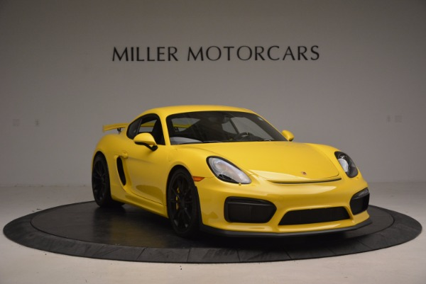 Used 2016 Porsche Cayman GT4 for sale Sold at Aston Martin of Greenwich in Greenwich CT 06830 11