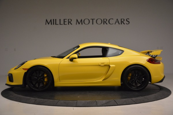 Used 2016 Porsche Cayman GT4 for sale Sold at Aston Martin of Greenwich in Greenwich CT 06830 3