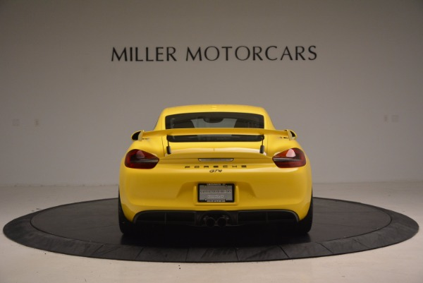 Used 2016 Porsche Cayman GT4 for sale Sold at Aston Martin of Greenwich in Greenwich CT 06830 6