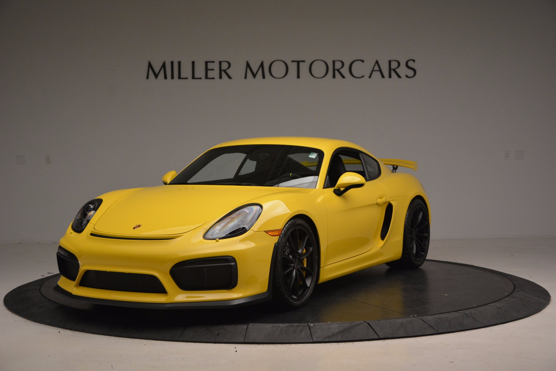 Used 2016 Porsche Cayman GT4 for sale Sold at Aston Martin of Greenwich in Greenwich CT 06830 1