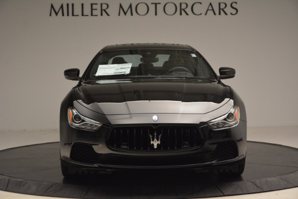 New 2017 Maserati Ghibli Nerissimo Edition S Q4 for sale Sold at Aston Martin of Greenwich in Greenwich CT 06830 12