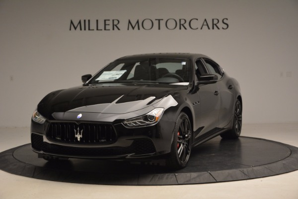New 2017 Maserati Ghibli Nerissimo Edition S Q4 for sale Sold at Aston Martin of Greenwich in Greenwich CT 06830 1