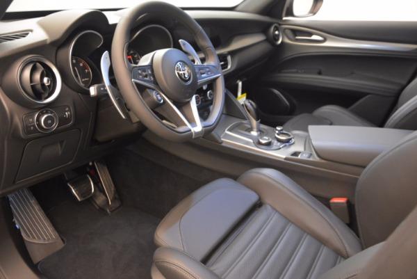 New 2018 Alfa Romeo Stelvio Ti Sport Q4 for sale Sold at Aston Martin of Greenwich in Greenwich CT 06830 13