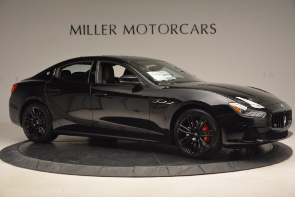 New 2017 Maserati Ghibli Nerissimo Edition S Q4 for sale Sold at Aston Martin of Greenwich in Greenwich CT 06830 10