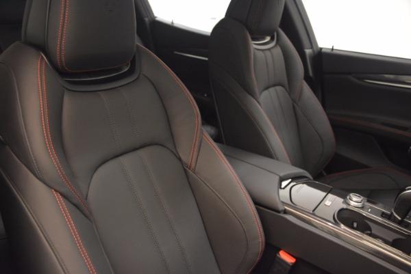 New 2017 Maserati Ghibli Nerissimo Edition S Q4 for sale Sold at Aston Martin of Greenwich in Greenwich CT 06830 22