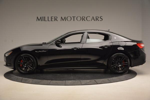 New 2017 Maserati Ghibli Nerissimo Edition S Q4 for sale Sold at Aston Martin of Greenwich in Greenwich CT 06830 3