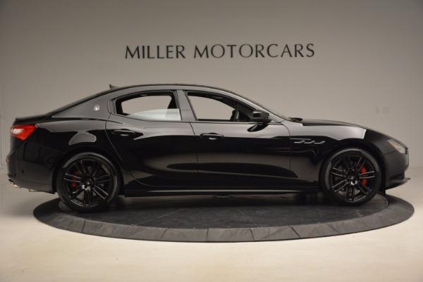 New 2017 Maserati Ghibli Nerissimo Edition S Q4 for sale Sold at Aston Martin of Greenwich in Greenwich CT 06830 9