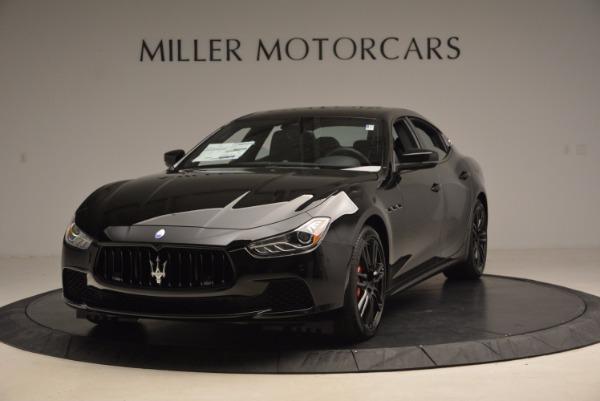 New 2017 Maserati Ghibli Nerissimo Edition S Q4 for sale Sold at Aston Martin of Greenwich in Greenwich CT 06830 1
