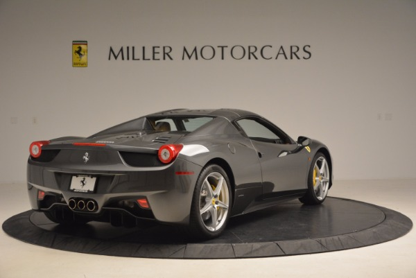 Used 2015 Ferrari 458 Spider for sale Sold at Aston Martin of Greenwich in Greenwich CT 06830 19
