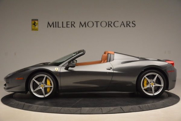 Used 2015 Ferrari 458 Spider for sale Sold at Aston Martin of Greenwich in Greenwich CT 06830 3