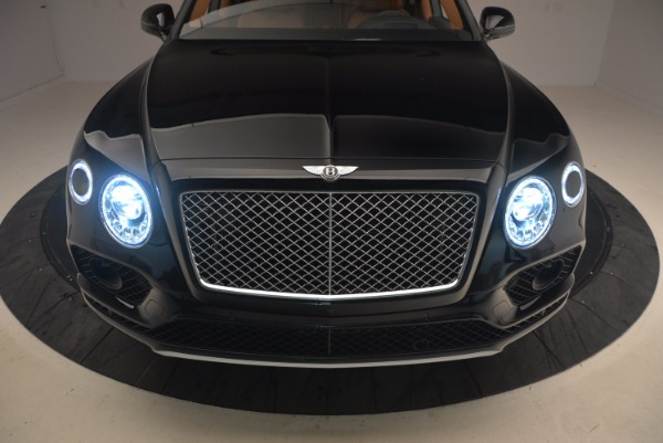 New 2018 Bentley Bentayga Onyx for sale Sold at Aston Martin of Greenwich in Greenwich CT 06830 16