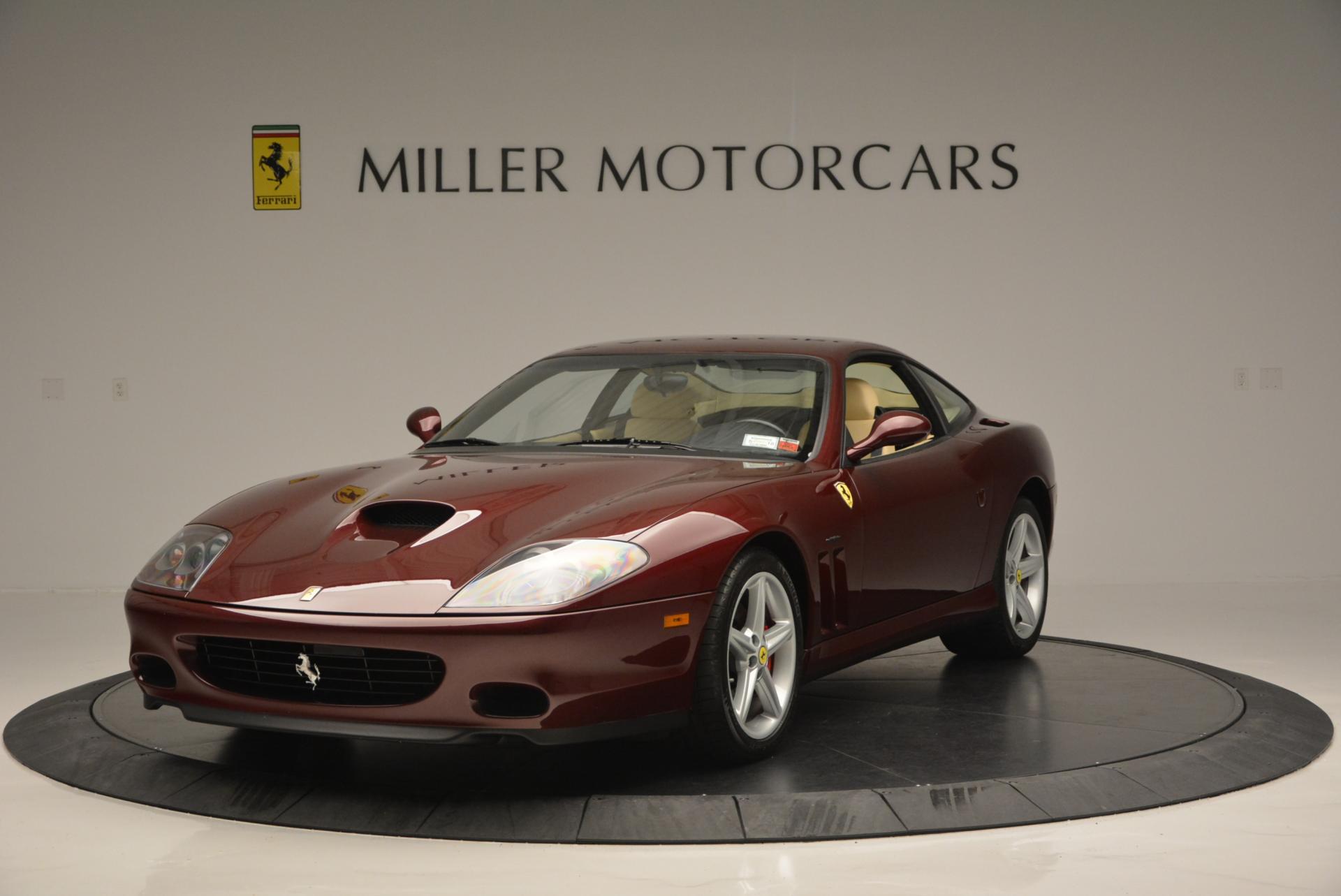 Used 2003 Ferrari 575M Maranello 6-Speed Manual for sale Sold at Aston Martin of Greenwich in Greenwich CT 06830 1